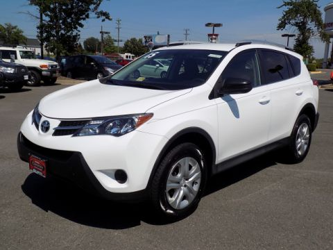 Certified Used Toyota RAV4 LE