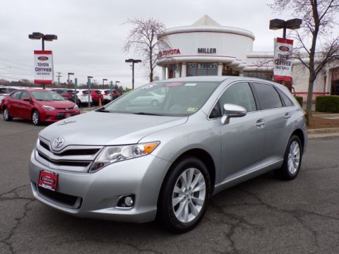 Certified Used Toyota Venza LE