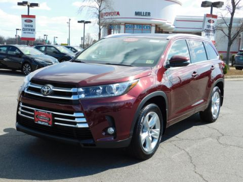 Certified Used Toyota Highlander Limited