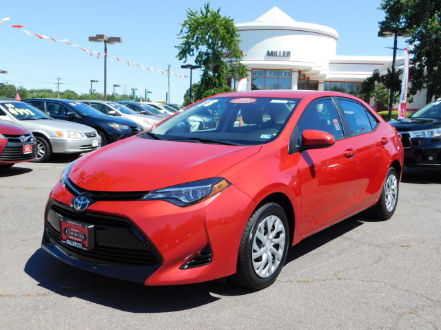 Certified Pre Owned 2018 Toyota Corolla In Manas M182385a Miller