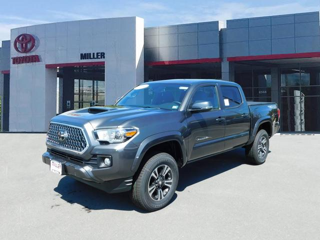 New 2019 Toyota Tacoma TRD Sport Double Cab 4x4 V6 Short Bed Automatic