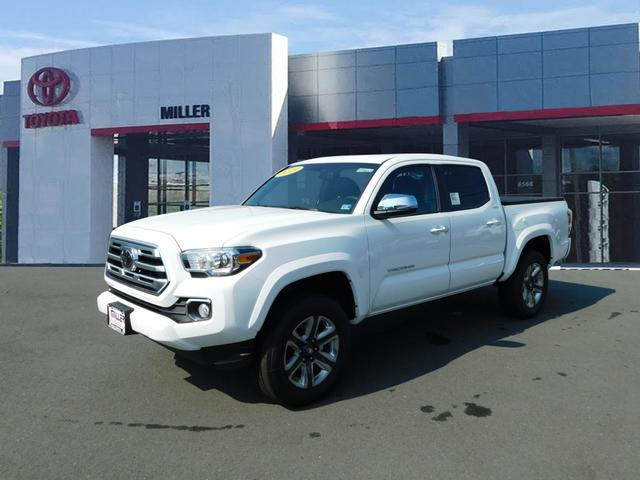 New 2019 Toyota Tacoma Limited Double Cab 4x4 V6 Short Bed