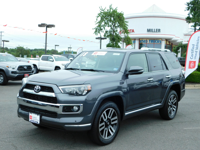 Certified Pre-Owned 2018 Toyota 4Runner Limited