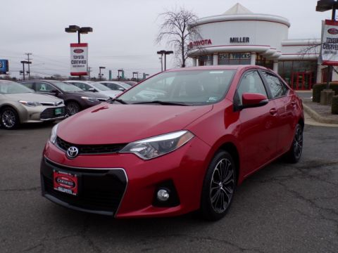 Certified Pre-Owned 2016 Toyota Corolla S Premium