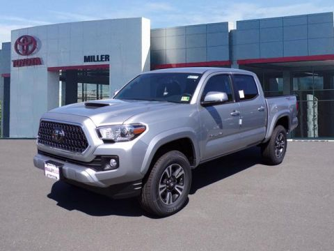 New 2018 Toyota Tacoma TRD Sport 4x2 Double Cab V6 Short Bed