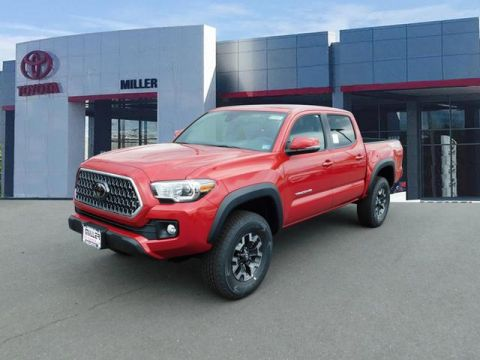 New 2019 Toyota Tacoma TRD Off Road Double Cab 4x4 V6 Short Bed Automatic