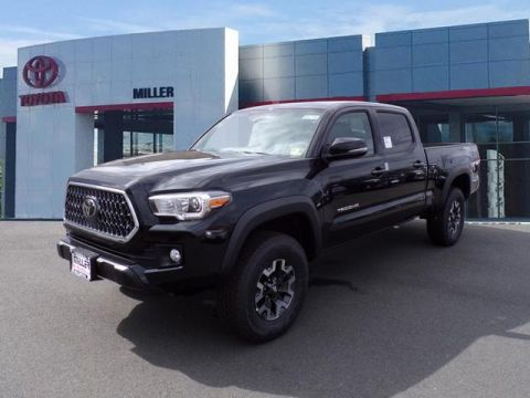 New 2018 Toyota Tacoma TRD Off Road Double Cab 4x4 V6 Long Bed