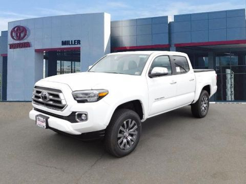New 2020 Toyota Tacoma Limited Double Cab 4x4 V6 Short Bed