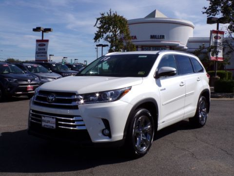 Certified Pre-Owned 2018 Toyota Highlander Hybrid Limited Platinum