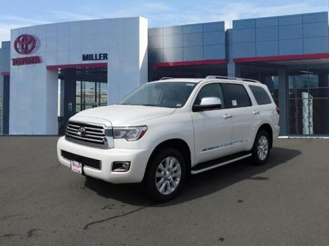 New 2020 Toyota Sequoia Platinum 7 Psgr 4WD