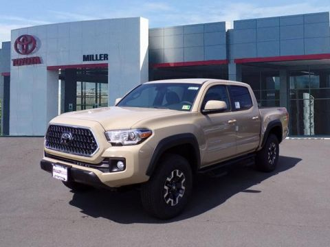 New 2018 Toyota Tacoma TRD Off Road Double Cab 4x4 V6 Short Bed Manual