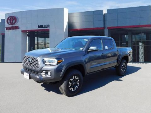 New 2020 Toyota Tacoma TRD Off Road Double Cab 4x4 V6 Short Bed Manual