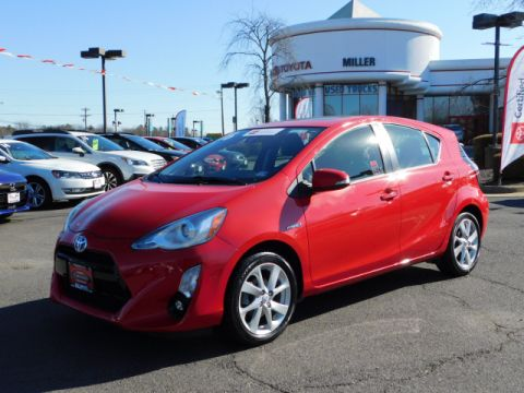 Certified Pre-Owned 2016 Toyota Prius c Four