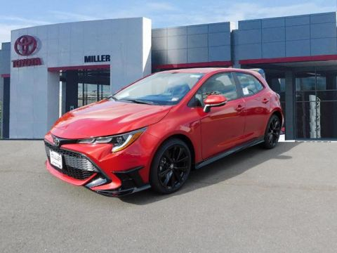 New 2021 Toyota Corolla Hatchback SE Automatic